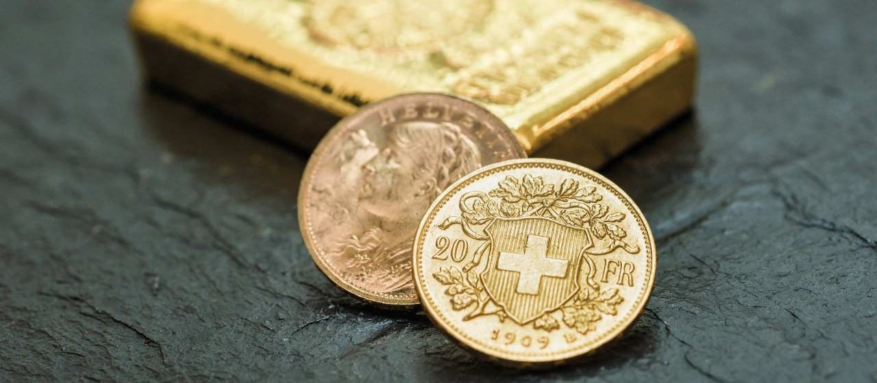 Bild: Münzen und Edelmetalle