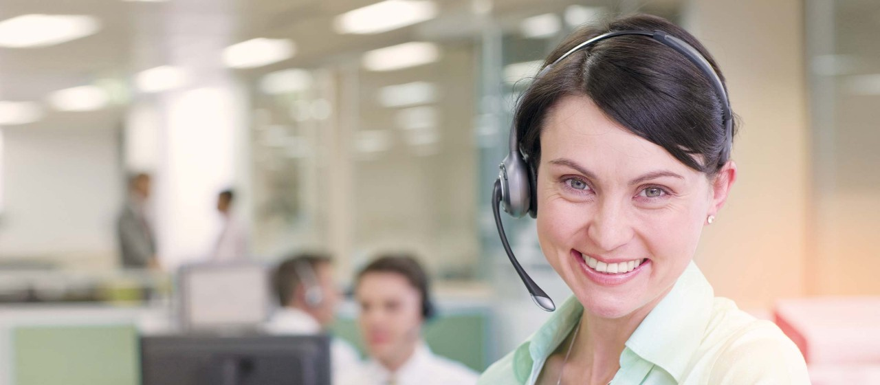 Bild: Kunden-Service-Center